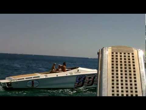 Saint Tropez Bay - American Speedboat
