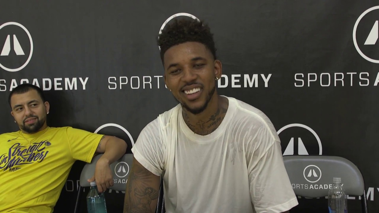 nick young challenges gilbert arenas to a shooting contest