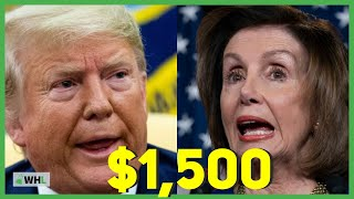 Trump vs Pelosi Stimulus Plan ($1,500 check coming your way?)