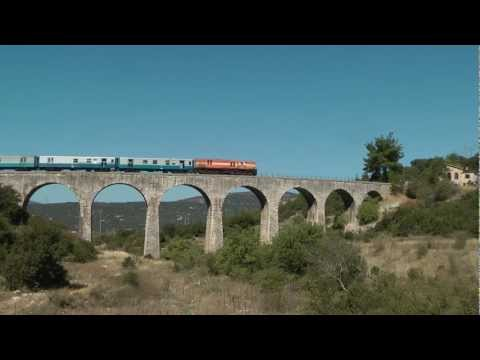 Following the excursion train from Tripolis to Kalamata and Κatakolo,Part 1.....