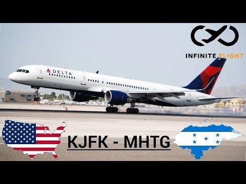 • Infinite Flight • Delta 757-200 New york to Toncontin, Honduras •