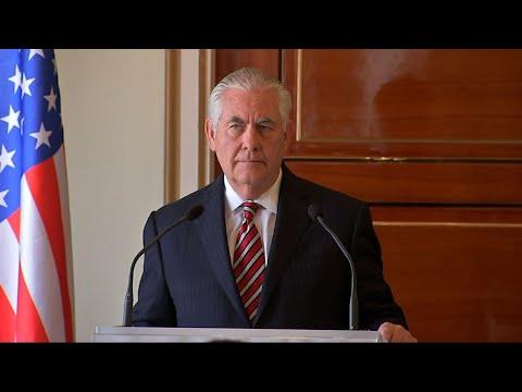 Tillerson: Kim Jong Un Forward-Leaning In Talks