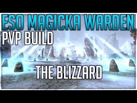 ARCHIVED] The Blizzard – Magicka Warden PvP Build - Dottz Gaming