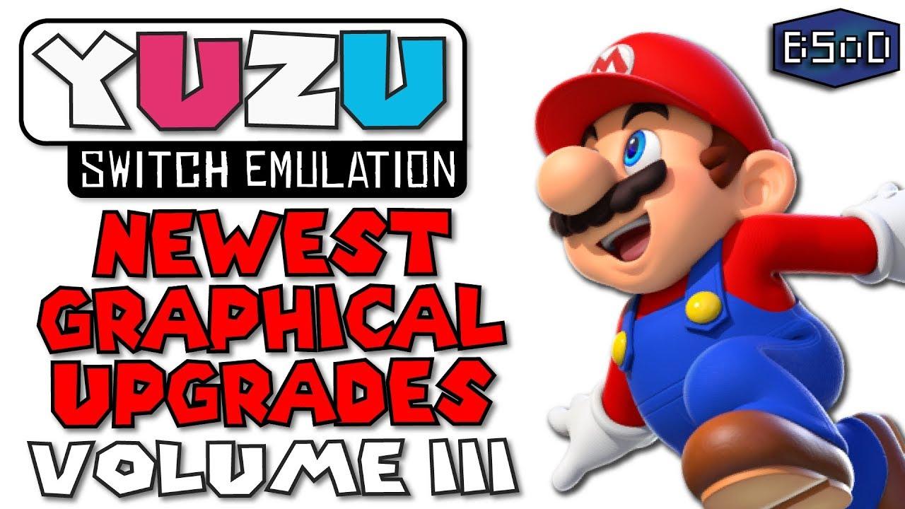 Yuzu Emulator - SMO Graphical Upgrades Volume 3 | Nintendo