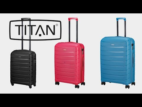 23a9109ab3d13 Titan - Limit 4-Rollen-Trolley | koffer-direkt.de - YouTube