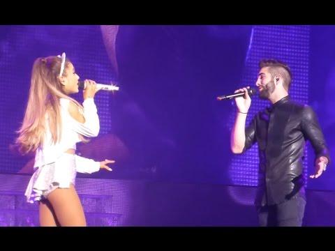 Ariana Grande & Kendji Girac - One Last Time (Live Zenith Paris)