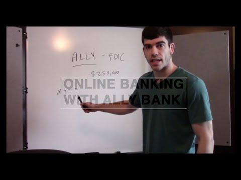 Online Baking w/ ALLY Bank