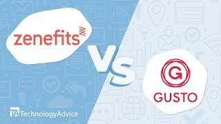 In this video, we'll compare two popular hr software tools: zenefits and gusto. researching software? over 190 vendors here: https://technologyadv...