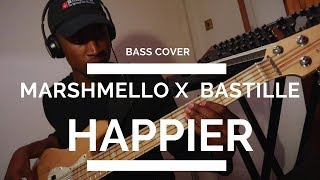 Happier MARSHMELLO ft. BASTILLE || Bass Cover by Caleb Wilson