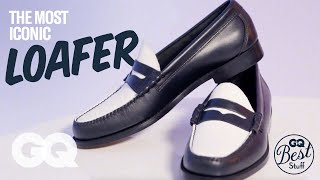 GQ Experts Explain The Bass Weejuns Loafer | GQ
