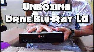 Unboxing - Drive LG Blu-Ray