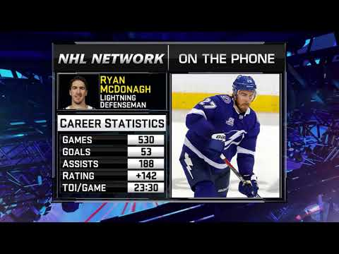93a13fa0e Ryan Mcdonagh Signs Extension With Lightning - YouTube