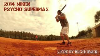 2014 Miken Psycho Supermax Jeremy Isenhower Signature Model Sneak Peak