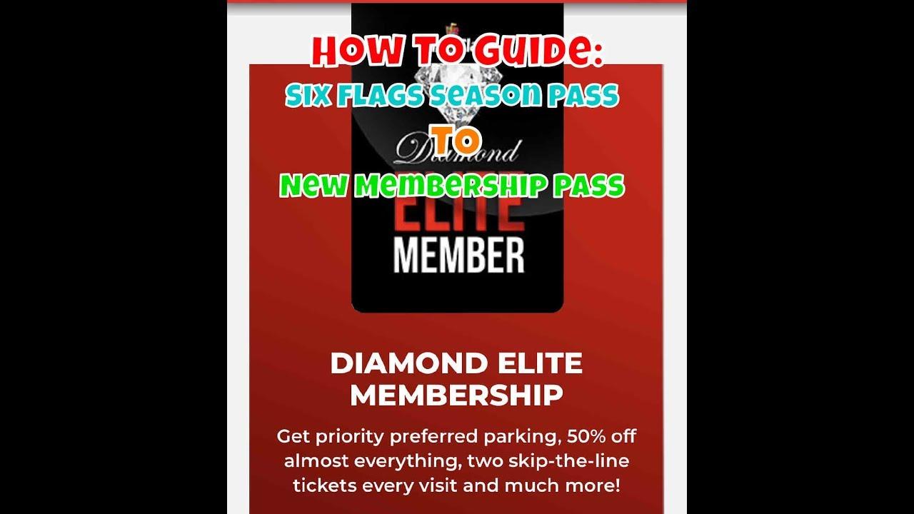 How To Guide: Six Flags Season Pass to New Membership