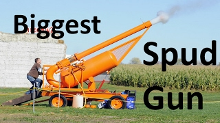 BEST SPUD GUN/POTATO CANNON COMPILATION 2017!