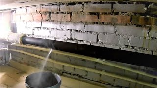 Сварка трубы Горячего водоснабжения