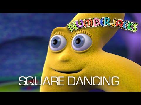 NUMBERJACKS | Square Dancing | S1E43