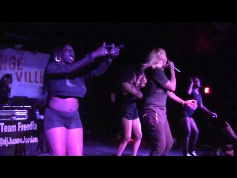 Big Freedia on March 2, 2017 at High Dive, Gainesville, FL