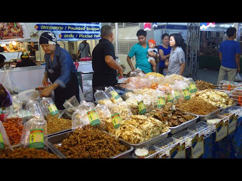 Asian street food Market - Products from Laos, Vietnam and Thailand