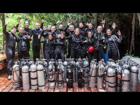 Making of the first Cave Diving Flash Mob + Bonus Material