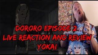 Dororo Episode 2 Live Reaction and Review. Yokai