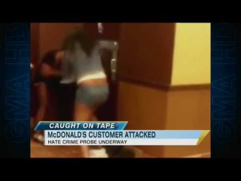 McDonald's Beating Video: Was it a Hate Crime? thumbnail