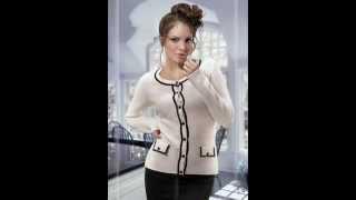 Схемы вязаных свитеров для женщин