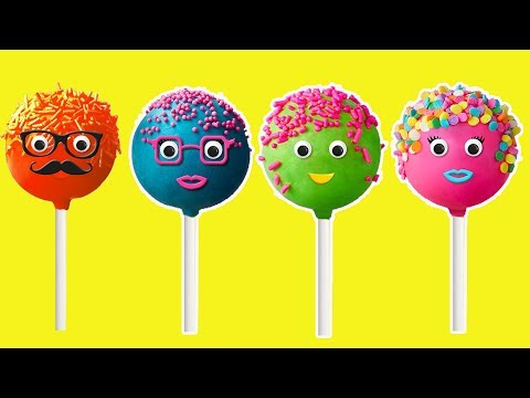 Thumbnail: The Finger Family Cake Pop Family Nursery Rhymes | Kids Animation Rhymes Songs