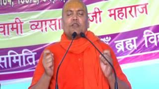 swami vyasanand ji maharaj || UJJAIN santmat satsang 15 05 2016 evening