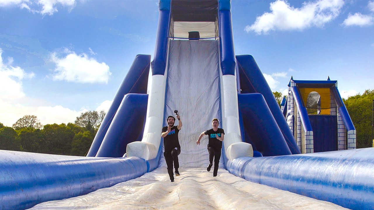 Inflatable obstacle courses for adults