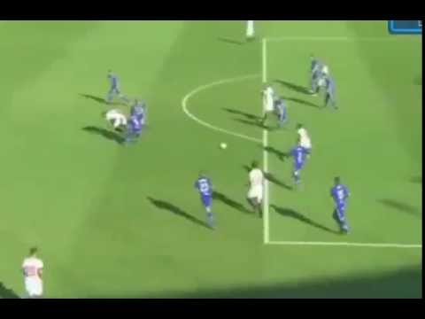 Pase de Tacón de Ganso/Gol del Sevilla vs Alaves 1-0