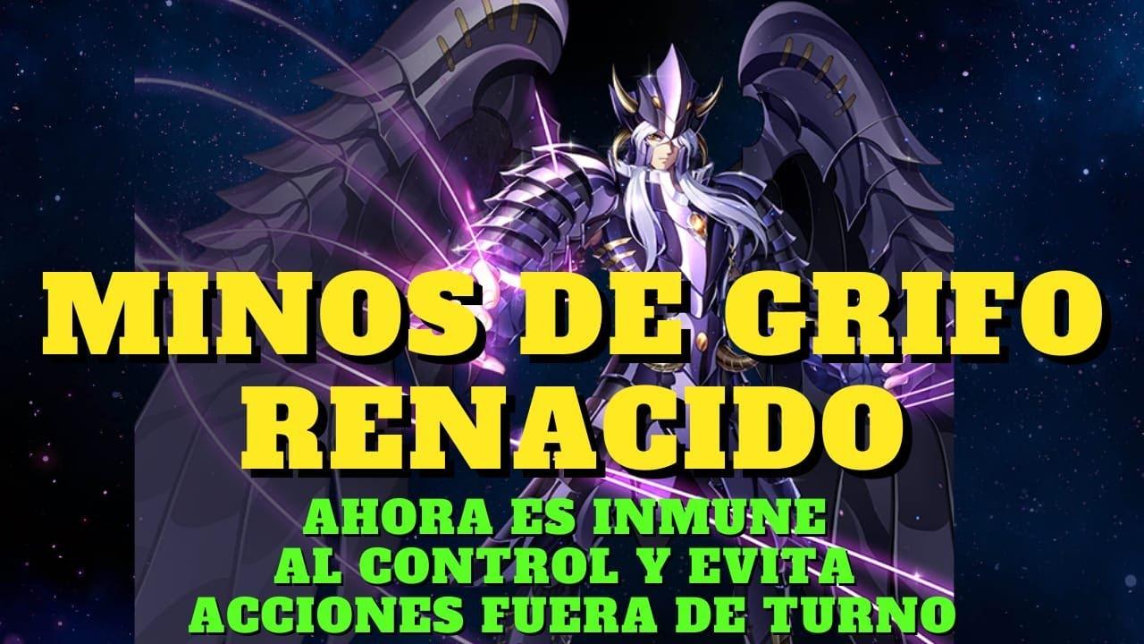 MINOS DE GRIFO RENACIDO: INMUNE AL CONTROL Y RESTRINGE ACCIONES FUERA DE TURNO. SSAKOTZ