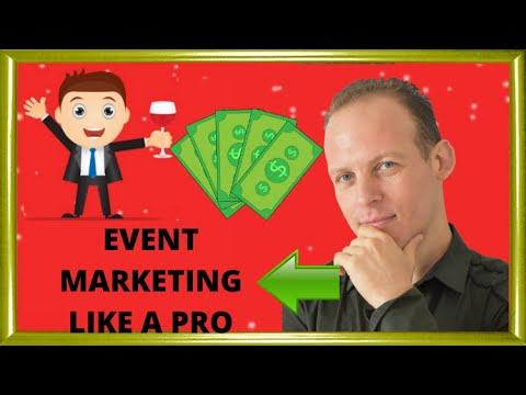 Event marketing and promotion strategies with SEO, publicity and social media