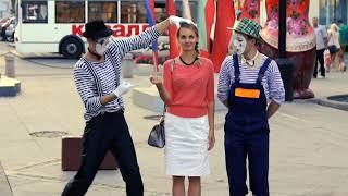 ГримАсы Мимы фокусы ходулисты фрики шоу в Самаре