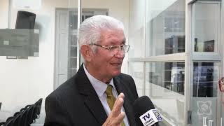 Carreira dá sua primeira entrevista como presidente da Casa ao Direto da Sessão