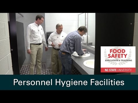 Personnel Hygiene Facilities: Food Safety