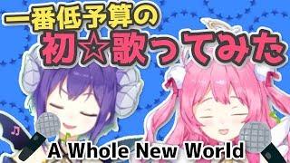 一番低予算のアホールニューワールド歌ってみた(A Whole New World)【きらめる動画#05】