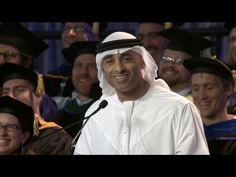 2016 Commencement Keynote Speaker H.E. Yousef Al Otaiba