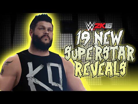 WWE 2K16 News: Kevin Owens' Entrance & 19 More Confirmed Superstars!