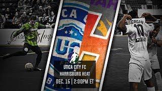 Utica City FC vs Harrisburg Heat