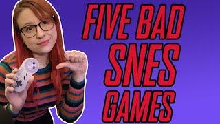 5 BAD SNES Gaṁes - Erin Plays