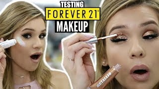 Full Face TESTING FOREVER 21 Makeup... IS IT ANY GOOD?? | HIT or MISS