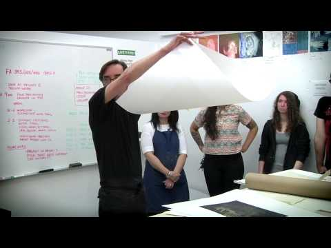 Paul Mullowney Paper in Printmaking | School of Fine Art | Academy of Art University