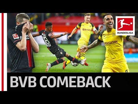 Dortmund's Sensational Comeback - Reus, Sancho, Alcacer & Co. Stun Leverkusen