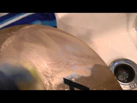 Cymbal Cleaning VERY EASY WAY