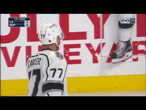 Los Angeles Kings vs. Buffalo Sabres 12-13-16 Jeff Carter Breakaway GOAL