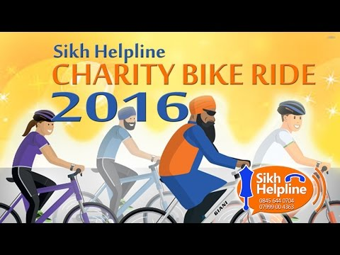 Sikh Helpline Bike Ride 2016 - South Birmingham to Wolverhampton