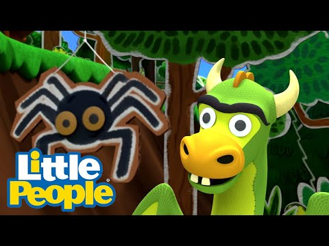 Fisher Price Little People |  Proud To Be You And Me - Hunting Dragons | Compilation | Kids Movies