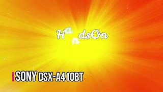 Review Sony DSX-A410BT