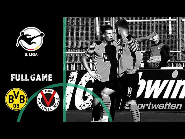 LIVE 🔴 Borussia Dortmund II vs. Viktoria Köln   3rd Division 2021/22   Matchday 13